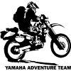 Naklejka ploterowa Yamaha TT600R